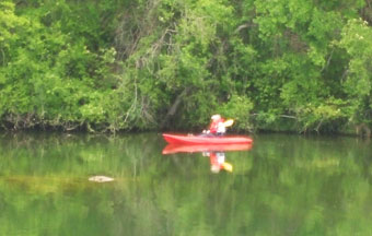 Kayaking at Shady Oaks RV