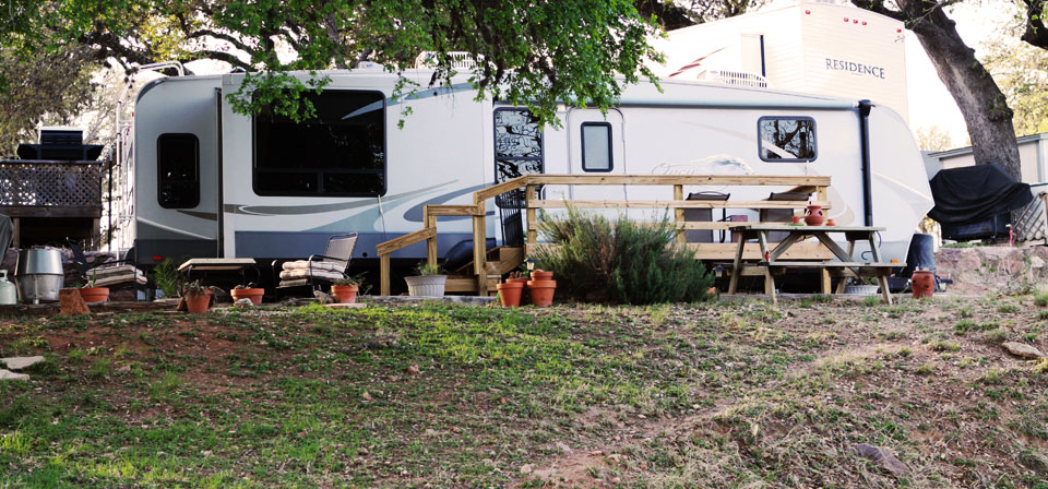 RV Site at Shady Oaks RV